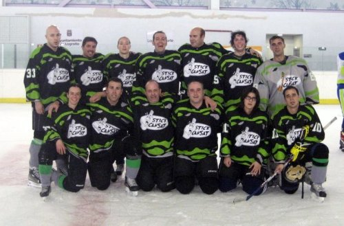 Stick Cansat, el equipo de hobbby-hockey de Puigcerdà