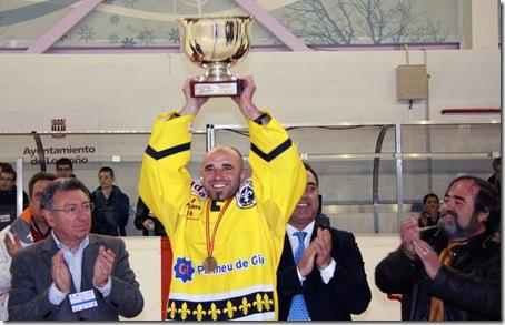 CG Puigcerda campeon, Salva Barnola