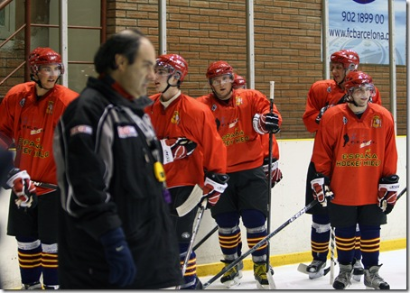 Entreno España Hockey Hielo 01