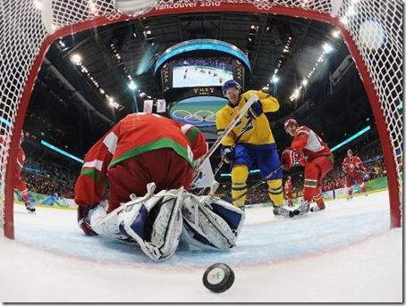 Suecia - Bielorrusia  - Vancouver 2010