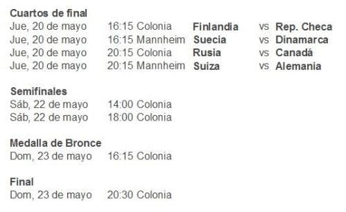 Quarts de Final Mundial Alemanya 2010