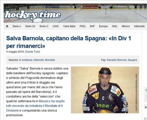 Salva a hockeytime.com