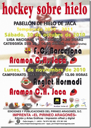 CARTEL HOCKEY BARNA-ANGLET