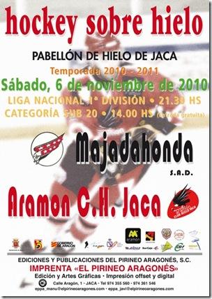 CARTEL HOCKEY JACA-MAJADAHONDA